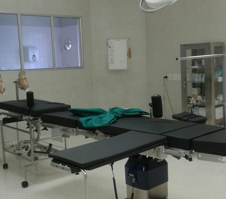 New Operating Table for MCH